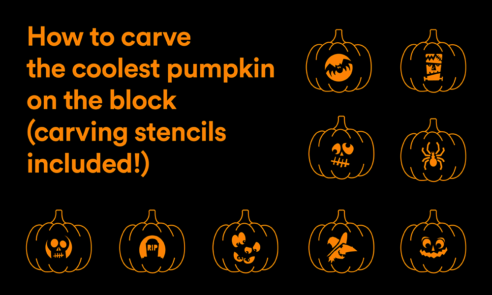 How to carve the coolest pumpkin on the block carving stencils its almost halloween and that means costumes candy and pumpkin carving a carved pumpkin or two or three is a halloween must for your porchnot only yadclub Gallery
