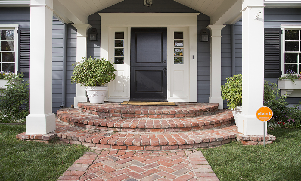 Front door security protects the entry to your home