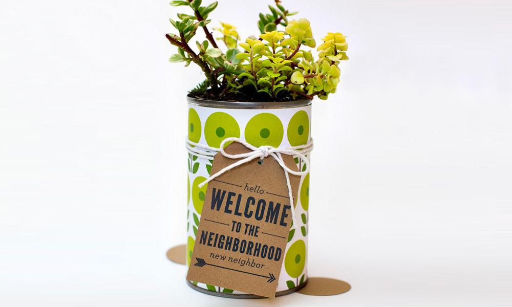Diy New Neighbor Gift Welcome To The Neighborhood